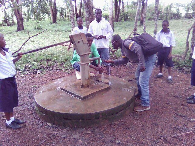 Poteru school (pump repair)